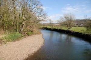 River Ewenny at Merthyr Mawr