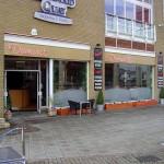 View of Demiro's restaurant.  Copyright, Paul Thomas 2008