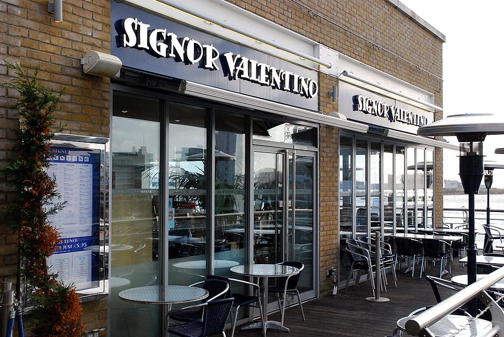 Signor Valentino's Restaurant, Cardiff Bay
