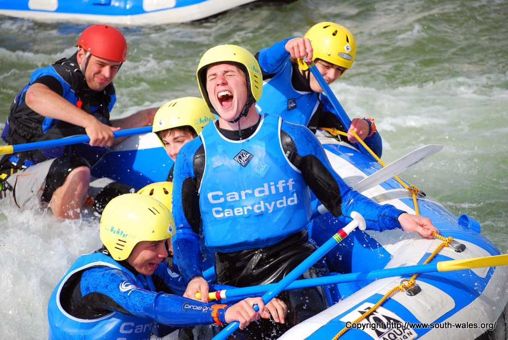 Cardiff International Whitewater Centre, Cardiff Bay