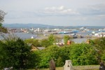 Cardiff Bay from St-Augustine's Church, Penarth 1