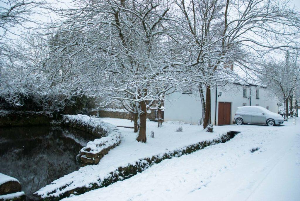 Snowy Scene in South Wales