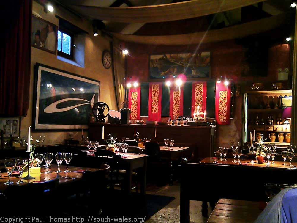 View of inside Illtud's restaurant