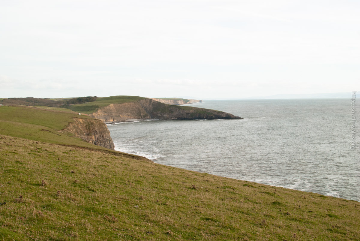 View of Southerndown from Ogmore