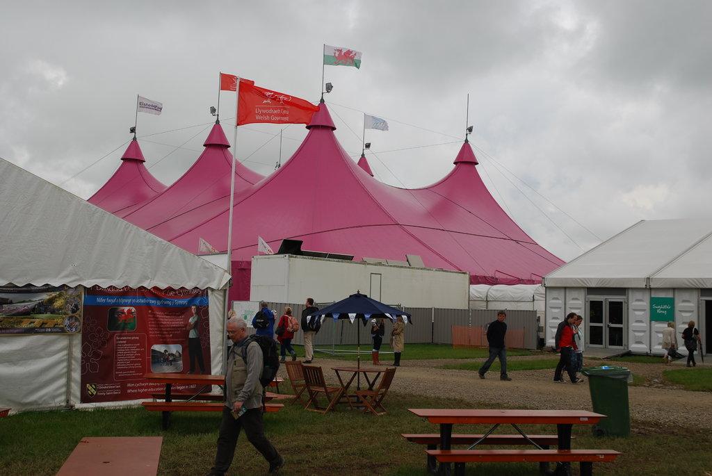 Eisteddfod Pink Pavilion
