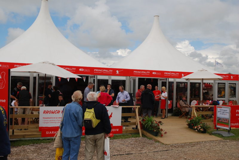 Principality Building Society at the Eisteddfod